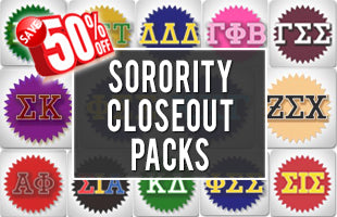 Sorority Closeout Packs