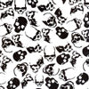 Skulls Pattern Cad Cut Greek letter merchandise