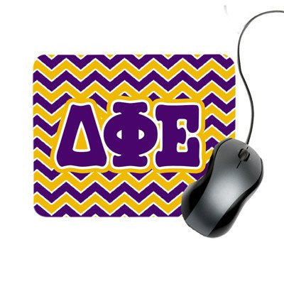 greek sorority fraternity chevron mouse pad back to school accessories