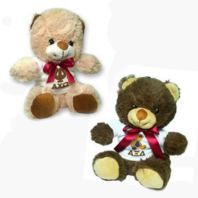 greek sorority mascot teddy bear big lil sis valentines day