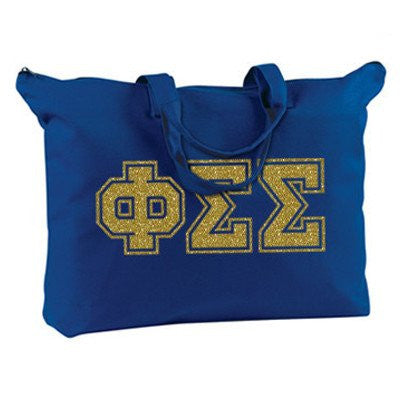 greek sorority varsity letter printed shoulder bag phi sig sigma sigma