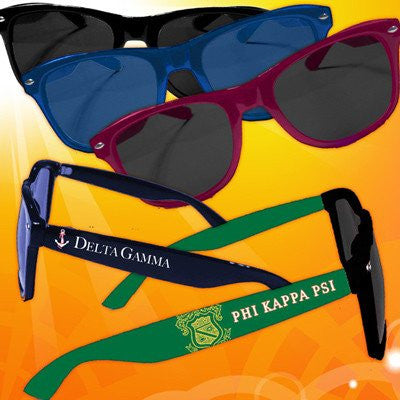 Something Greek accessories Custom Sorority Fraternity Sunglasses