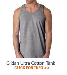 Custom Fraternity Tank Top shirts and Greek letter merchandise