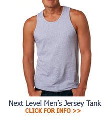Next Level Fraternity Jersey tank top