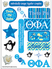 Theta Phi Alpha National Sorority Greek stickers and gear
