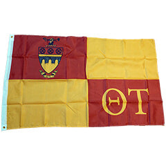 Theta Tau Fraternity Flag Custom Greek Flags and Banners