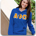 Alpha Phi Omega Fraternity letter apparel and Greek gear
