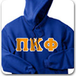 Pi Kappa Phi Fraternity lettered Custom Greek apparel