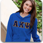 Alpha Kappa Psi Fraternity letter gear and Greek merchandise