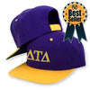 greek fraternity sorority hat embroidered snapback