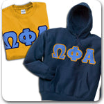 Omega Phi Alpha Sorority clothing specials and Custom Greek merchandise