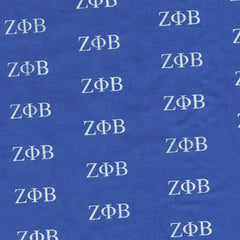 Zeta Phi Beta Blue Pattern