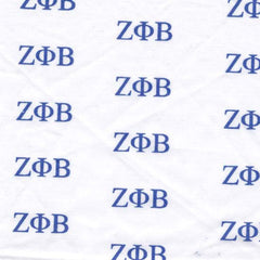 Zeta Phi Beta White Pattern