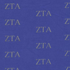 Zeta Tau Alpha Royal Pattern