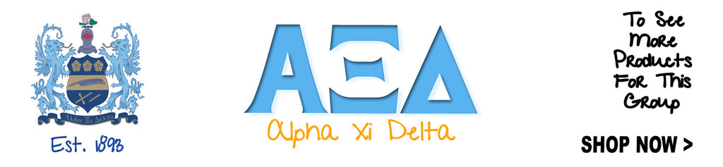 alpha xi delta clothing packages