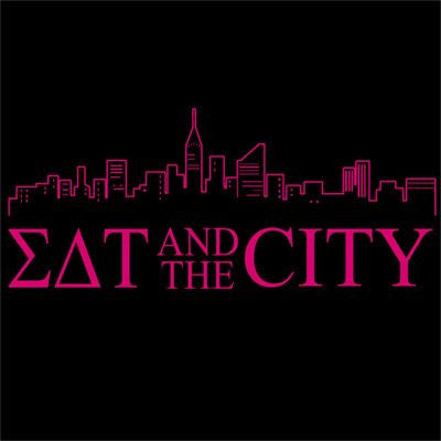 sigma delta tau sex and the city greek fraternity sorority tv show screenprint design custom shirts