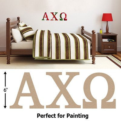 Big Wooden Greek Letters - Perfect for Painting