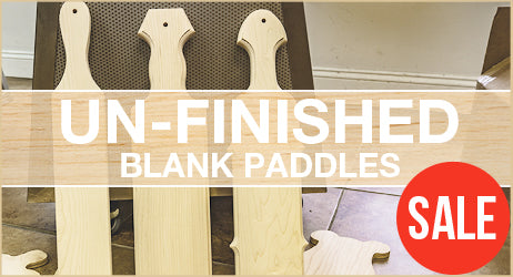 Unfinished Blank Paddles
