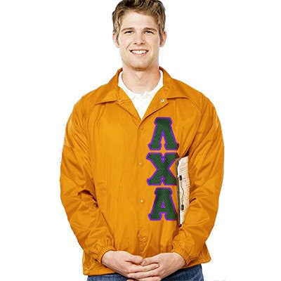 Something Greek Custom Fraternity Coach's Crossing Jacket