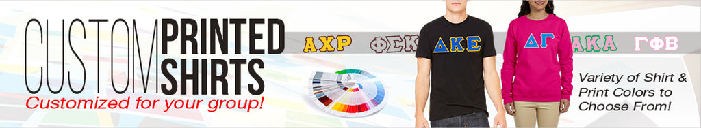 sorority fraternity greek custom shirts printed budget low prices