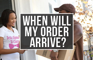 See when your order will arrive!