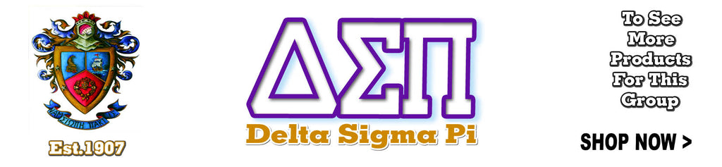delta sigma pi clothing specials