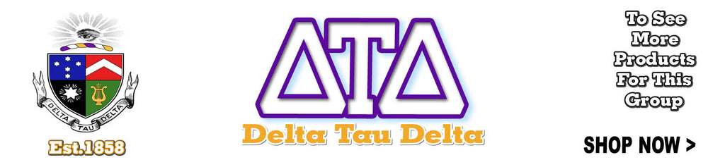 Delta Tau Delta Fraternity clothing and Custom Greek merchandise