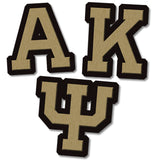 Alpha Kappa Psi Fraternity clothing Custom Greek merchandise Greek wood items
