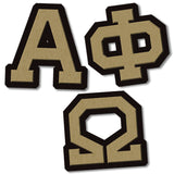 Alpha Phi Omega Fraternity do it yourself custom Greek merchandise
