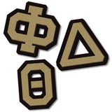 phi delta theta fraternity greek wood paddle diy custom engraved symbol mascot