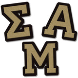 Sigma Alpha Mu Fraternity merchandise Custom wooden Greek merchandise