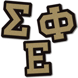 Sigma Phi Epsilon Fraternity do it yourself custom Greek merchandise