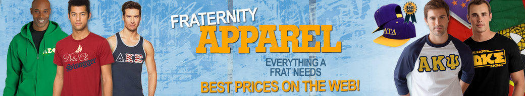 Fraternity clothing and Custom Greek merchandise