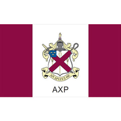 Alpha Chi Rho axp Fraternity flag Custom Greek flags and banners