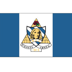 Phi Sigma Sigma National Sorority flag Custom Greek flags and banners