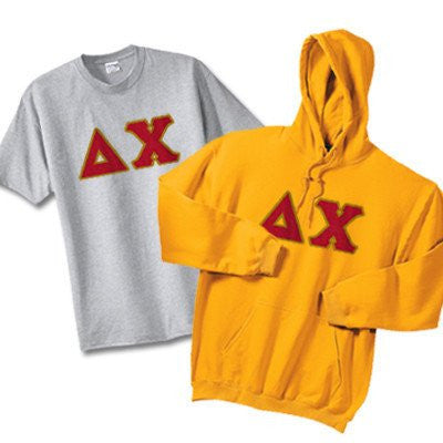 fraternity hoodie and t shirt twill pattern package deal greek clothing and merchandise