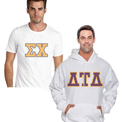 Custom Greek gear Fraternity clothing budget collection