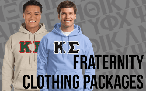 Fraternity Clothing Packages