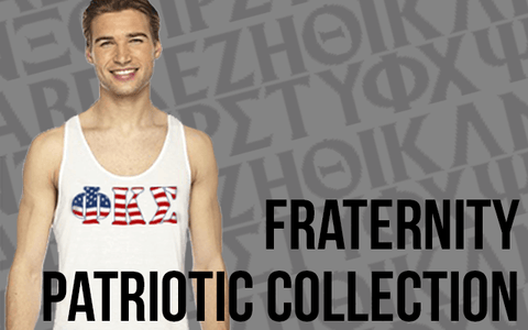 Fraternity Patriotic Greek Gear