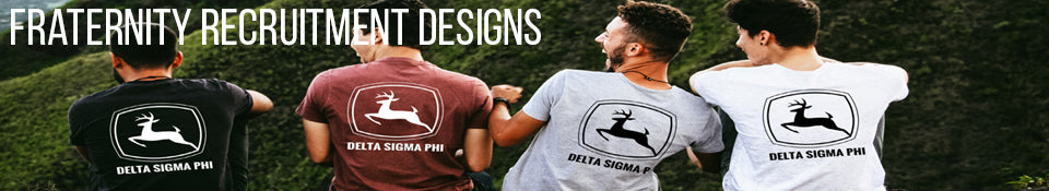 Fraternity Recruitment Designs