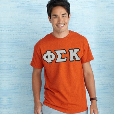 Custom Fraternity letter shirts Custom Greek printed clothing Greek merchandise