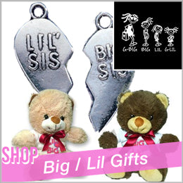 Sorority accessories Custom Greek gifts and accessories