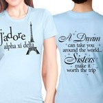 Something Greek Custom Sorority Recruitment Clothing Alpha Xi Delta
