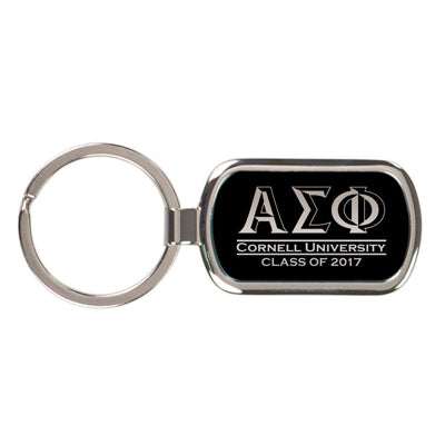 Custom Greek graduation gifts Greek Key Chain