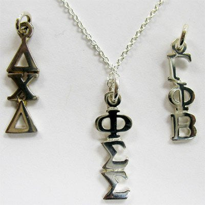 Something Greek exclusive Sorority Sterling silver Necklace