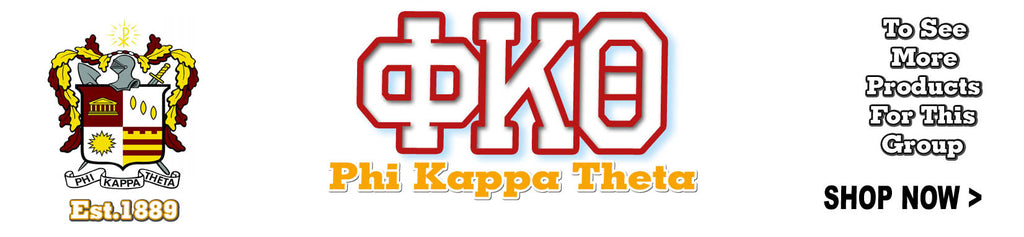 Phi Kappa Theta Fraternity clothing and Custom Greek merchandise