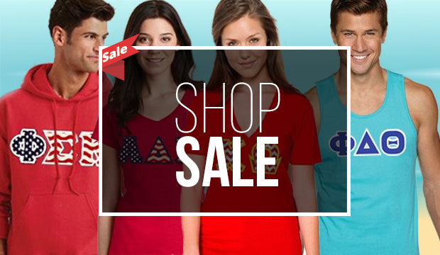 Shop Sorority and Fraternity Sale Offers
