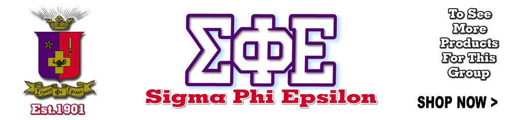 sigma phi epsilon clothing specials