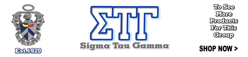 Sigma Tau Gamma Fraternity clothing Custom Greek merchandise
