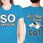 Something Greek Custom Sorority Recruitment Clothing Sigma Delta Tau